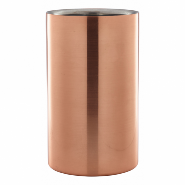 Copper Wine Cooler 12cm x 20cm