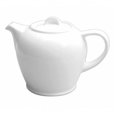 White Coffee Pot 511ml 18oz | Pack of 6