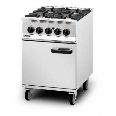 Opus 800 Four Burner Natural Gas Oven Range