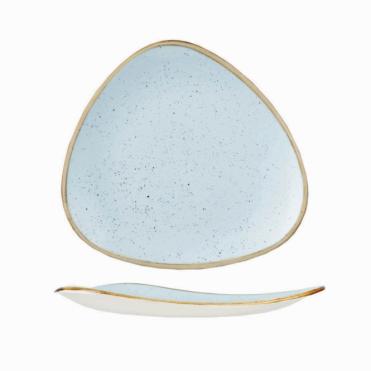 Stonecast Triangle Plate 22.9cm 9  sc 1 st  Crosbys & Duck Egg Blue Plates