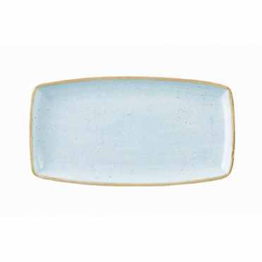 Stonecast Oblong Plate 35cm x 18.5cm - Duck Egg Blue | Pack of 6