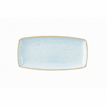 Stonecast Oblong Plate 29.5cm x 15cm - Duck Egg Blue | Pack of 12