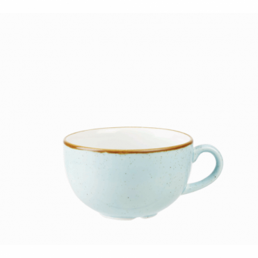 Stonecast Cappuccino Cup 500ml 17.5oz - Duck Egg Blue | Pack of 6