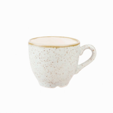 Stonecast Espresso Cup 100ml 3.5oz - Barley White | Pack of 12