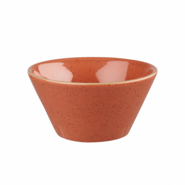 Stonecast Zest Bowl 340ml 12oz - Spiced Orange | Pack of 12