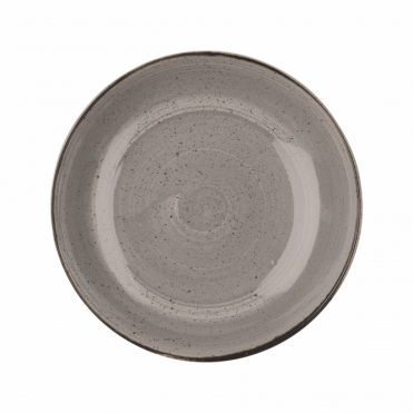 Stonecast Large Coupe Bowl 2.4 Litre 31cm - Peppercorn Grey | Pack of 6