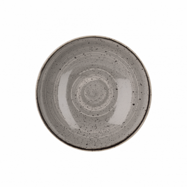 Stonecast Coupe Bowl 426ml 18.2cm - Peppercorn Grey | Pack of 12