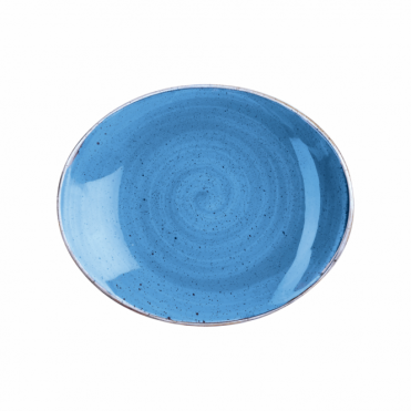 Stonecast Oval Plate 19.2cm 7.75