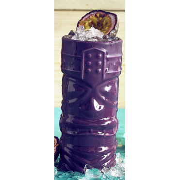 Purple Tiki Mug 400ml 14oz | Pack of 4