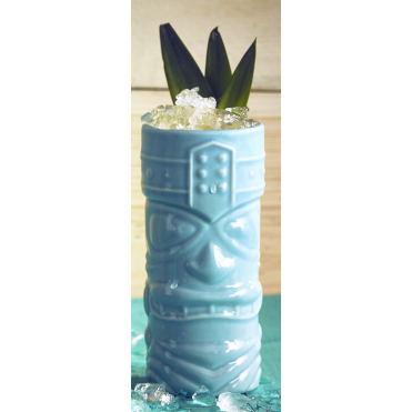 Blue Tiki Mug 400ml 14oz | Pack of 4