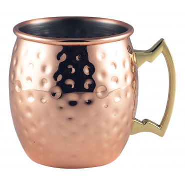 Barrel Mug-Hammered 400ml 14oz