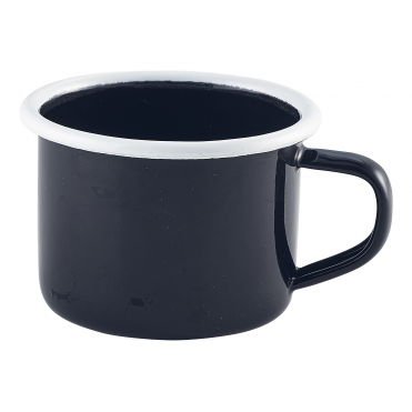 Black Enamel Mug 120ml 4.2oz