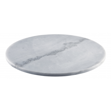 Grey Round Marble Platter & Cake Stand 33cm