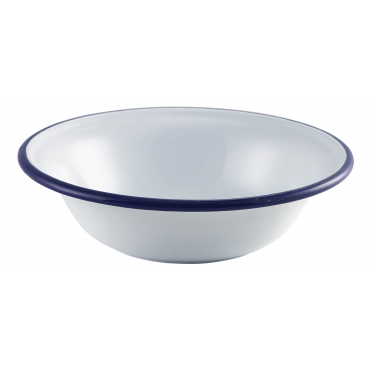 White Enamel Bowl 500ml