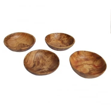 Olive Wood Dipping Bowls