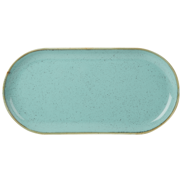 Seasons Sea Spray Narrow Oval Plates 32 x 20cm | Pack of 6