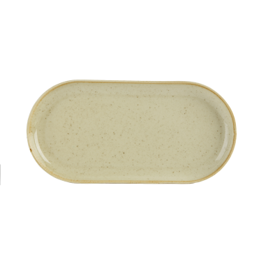 Seasons Wheat Narrow Oval Plate | Pack of 6