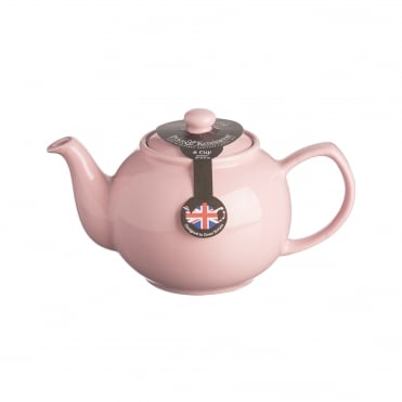Pastel Pink 6 Cup Teapot | Pack of 3
