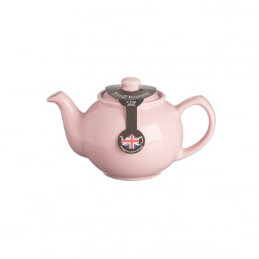 Pastel Pink 2 Cup Teapot | Pack of 3