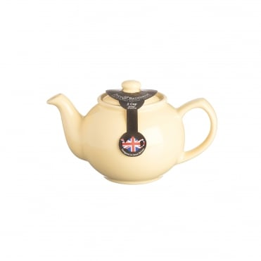 Pastel Yellow 2 Cup Teapot | Pack of 3