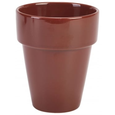 Terracotta Plant Pots Tall 500ml 17.5oz | Pack of 4