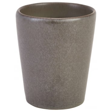Antigo Terra Stoneware Conical Cup 320ml | Pack of 12