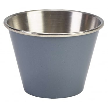 Grey Stainless Steel Ramekin 71ml 2.5oz | Pack of 12