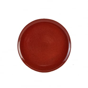 Red Rustic Terra Pizza Plate | Pack of 6
