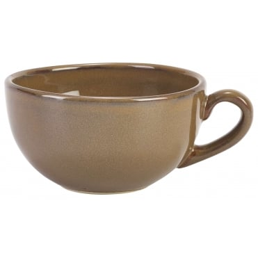 Brown Rustic Bowl Shaped Cup | Pack of 12