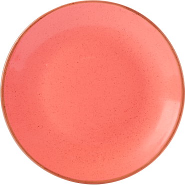 Seasons Coral Coupe Plate 24cm | Pack of 6