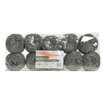 Stainless Steel Scourers | Pack of 10