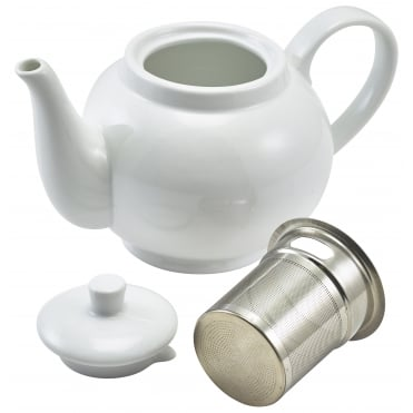 Teapots with Tea Infuser 450ml 15.75oz | Pack of 6