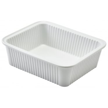 Fluted Rectangular Dish 16 x 13 x 5cm  sc 1 st  Crosbys & Oven to Tableware from Crosbys for kitchens catering and restaurants