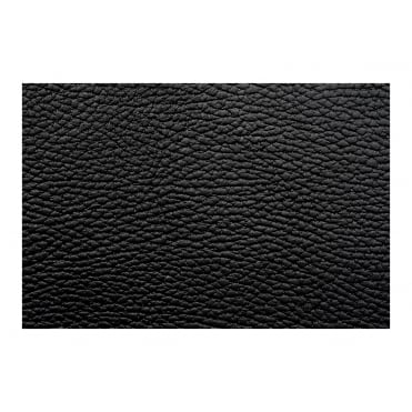 Leather Menu - Raw Black (A4 - 4 Page Facing)