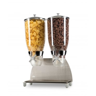 HCD302 Pro Serv Deluxe 2 Compartment Food & Cereal Dispenser