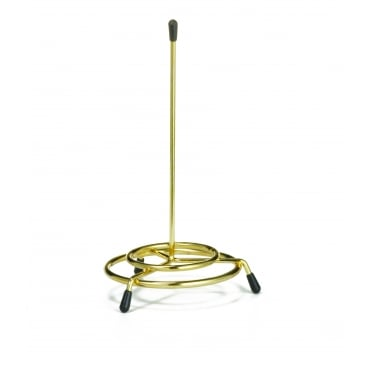172 Check Spindle - Brass Plated 7.5 x 15cm