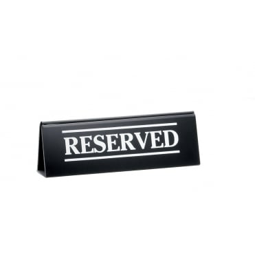2060A Reserved Sign Table Tent 5 x 15cm