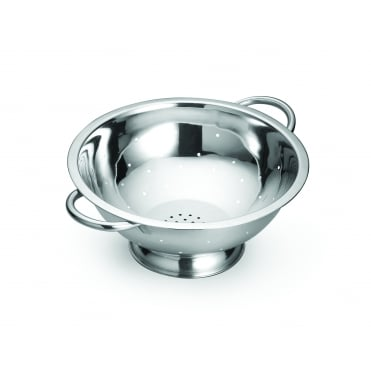 708 Stainless Steel Footed Colander 7.5L 33.5 x 12.5cm