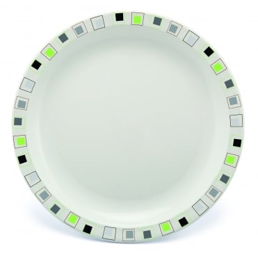 Large 23cm Polycarbonate Patterned Plate - 15 Patterns Available