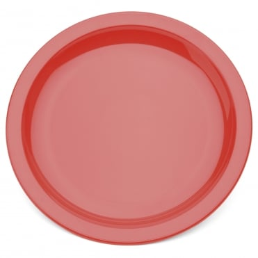 Narrow Rimmed 23cm Polycarbonate Plate - 16 Colours Available