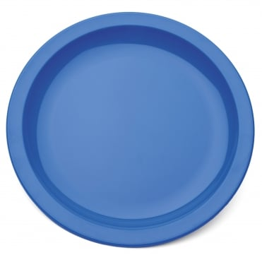 Narrow Rimmed 25.5cm Polycarbonate Plate - 2 Colours Available