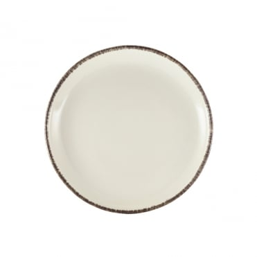 Sereno Grey Terra Stoneware Coupe Plate 24cm | Pack of 6