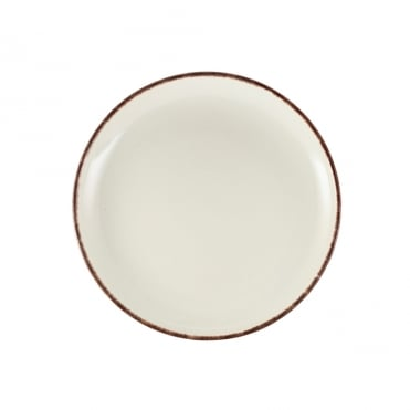 Sereno Brown Terra Stoneware Coupe Plate 27.5cm | Pack of 6